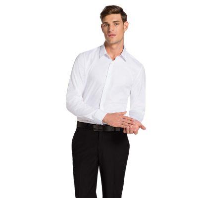Fashion 4 Men - yd. Rainer Slim Fit Shirt White Xl