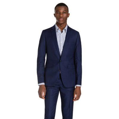 Fashion 4 Men - yd. Royce Slim Suit Oxford Navy 36
