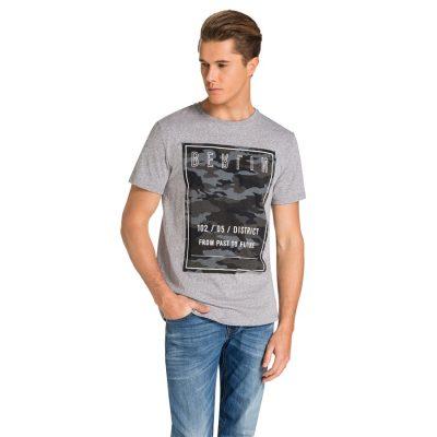 Fashion 4 Men - yd. Urban Tee Grey 2 Xl