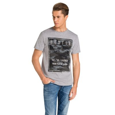 Fashion 4 Men - yd. Urban Tee Grey M