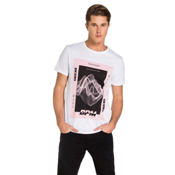 Fashion 4 Men - yd. Viva Tee White S