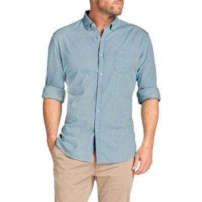 Fashion 4 Men - Tarocash Antwerp Denim Shirt Sky Xxl