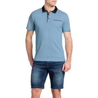 Fashion 4 Men - Tarocash Brighton Polo Sky Xxxl