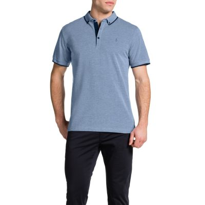 Fashion 4 Men - Tarocash Essential Polo Sky M