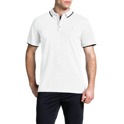 Fashion 4 Men - Tarocash Essential Polo White Xxxl
