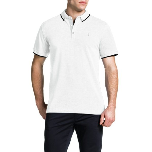 Fashion 4 Men - Tarocash Essential Polo White Xxxl