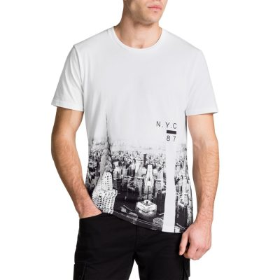 Fashion 4 Men - Tarocash New York Tee White L