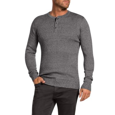Fashion 4 Men - Tarocash Stevie Henley Grey Marle 5 Xl