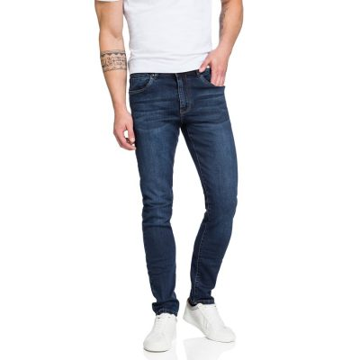 Fashion 4 Men - yd. Brienne Skinny Jean Dark Blue 28
