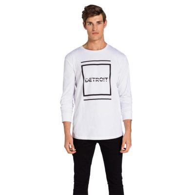 Fashion 4 Men - yd. Callan Long Top White Xs