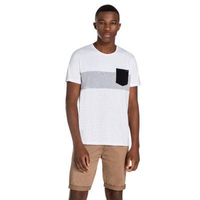 Fashion 4 Men - yd. Catch Tee White L