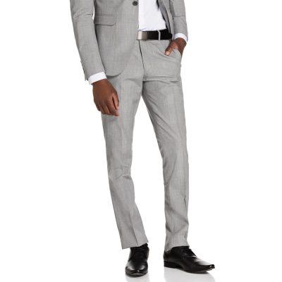 Fashion 4 Men - yd. Charles Skinny Pant Silver Grey Check 28