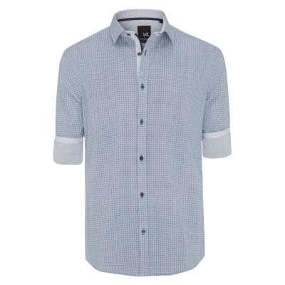 Fashion 4 Men - yd. Cinder Slim Fit Shirt White Xxxl