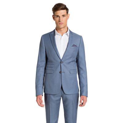 Fashion 4 Men - yd. Colton Skinny Suit Blue 46