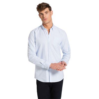 Fashion 4 Men - yd. Coltrane Slim Fit Shirt Light Blue Xs