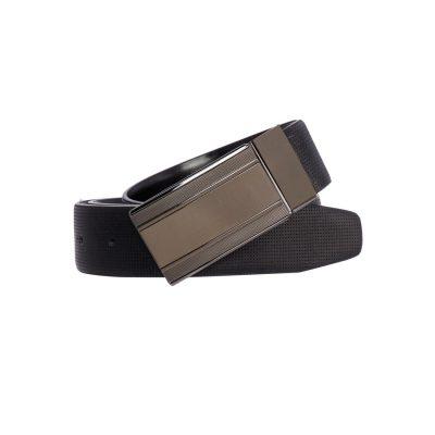Fashion 4 Men - yd. Derek Dress Belt Black/Black 40