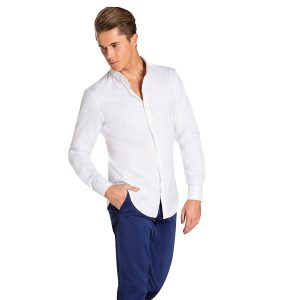 Fashion 4 Men - yd. Finian Shirt White S