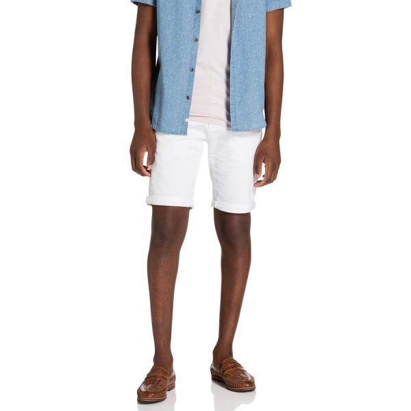 Fashion 4 Men - yd. Herston Chino Short White 32