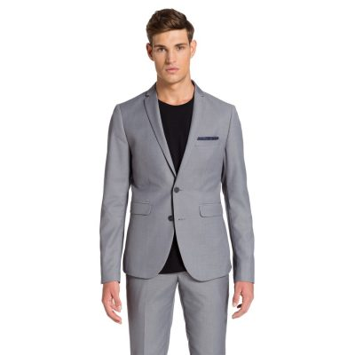Fashion 4 Men - yd. Hyden Skinny Suit Steel 38