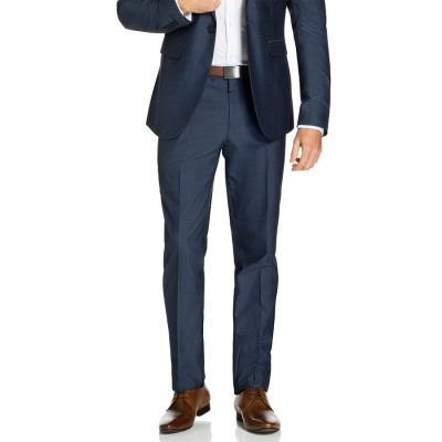 Fashion 4 Men - yd. Lambo Skinny Dress Pant Storm Blue 38