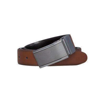 Fashion 4 Men - yd. Monk 30 Mm Dress Belt Brown/Black 42