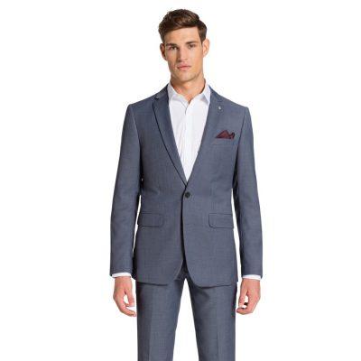 Fashion 4 Men - yd. Myles Slim Suit Blue 36