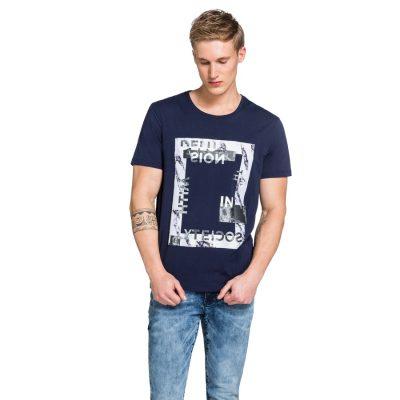 Fashion 4 Men - yd. Nickelson Tee Dark Blue L