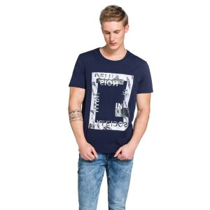 Fashion 4 Men - yd. Nickelson Tee Dark Blue S