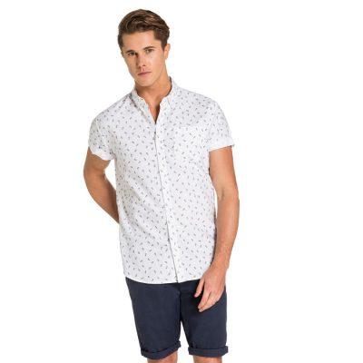 Fashion 4 Men - yd. Palmar S/S Shirt White L