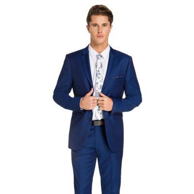 Fashion 4 Men - yd. Prince Skinny Suit Blue 38