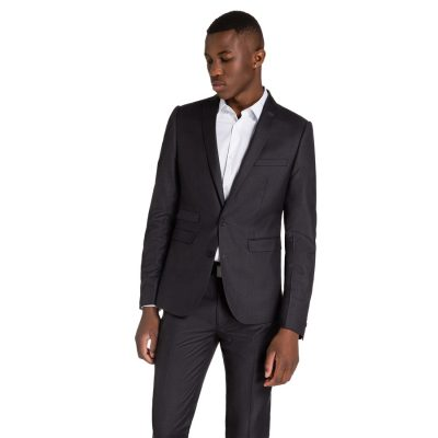 Fashion 4 Men - yd. Vermont Skinny Suit Charcoal 40