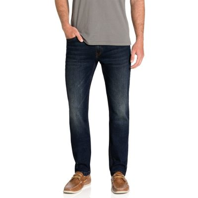 Fashion 4 Men - Tarocash Bates Cuffed Regular Jean Indigo 32