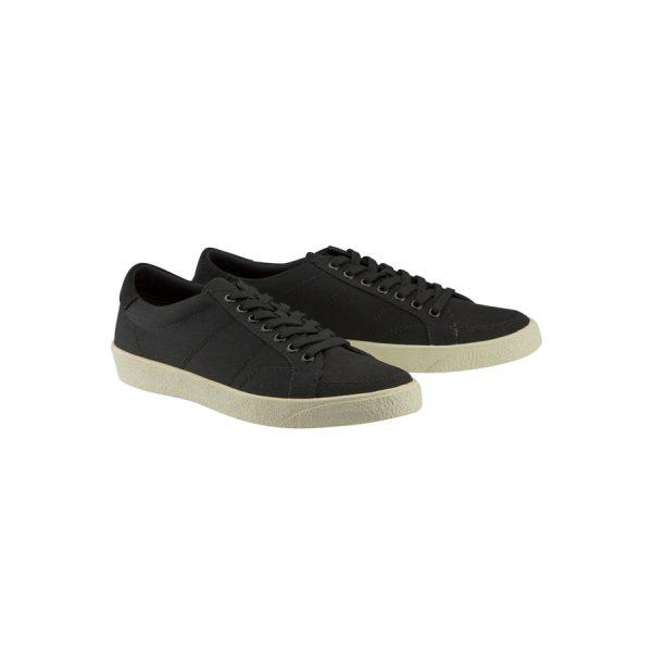 Fashion 4 Men - Tarocash Canvas Lace Up Shoe Black 10