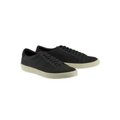 Fashion 4 Men - Tarocash Canvas Lace Up Shoe Black 8
