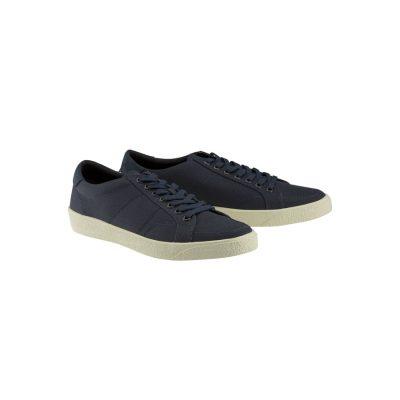 Fashion 4 Men - Tarocash Canvas Lace Up Shoe Navy 9