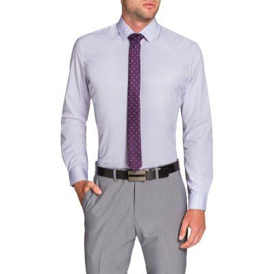 Fashion 4 Men - Tarocash Jasper Dress Shirt Lilac Xl