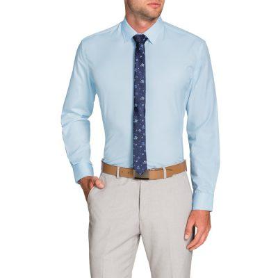 Fashion 4 Men - Tarocash Jasper Dress Shirt Sky S