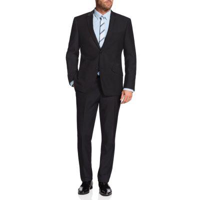 Fashion 4 Men - Tarocash Ledger 2 Button Suit Charcoal 50