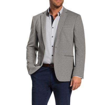 Fashion 4 Men - Tarocash Murphy Textured Jacket Cement Xl