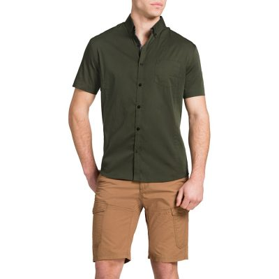 Fashion 4 Men - Tarocash Patrick Stretch Shirt Khaki M