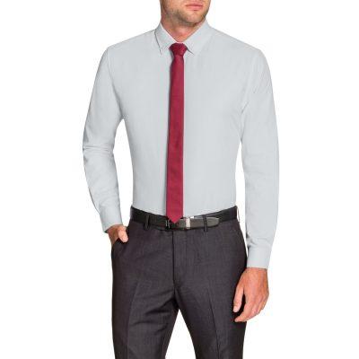 Fashion 4 Men - Tarocash Royale Textured Shirt White 5 Xl