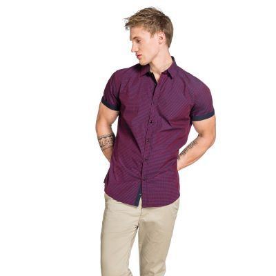Fashion 4 Men - yd. Airlaw Ss Shirt Red L