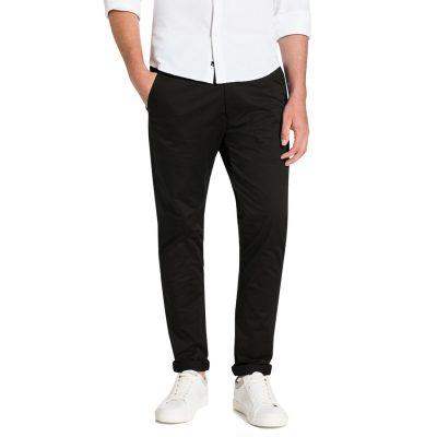 Fashion 4 Men - yd. Austin Skinny Chino Blk Black 40