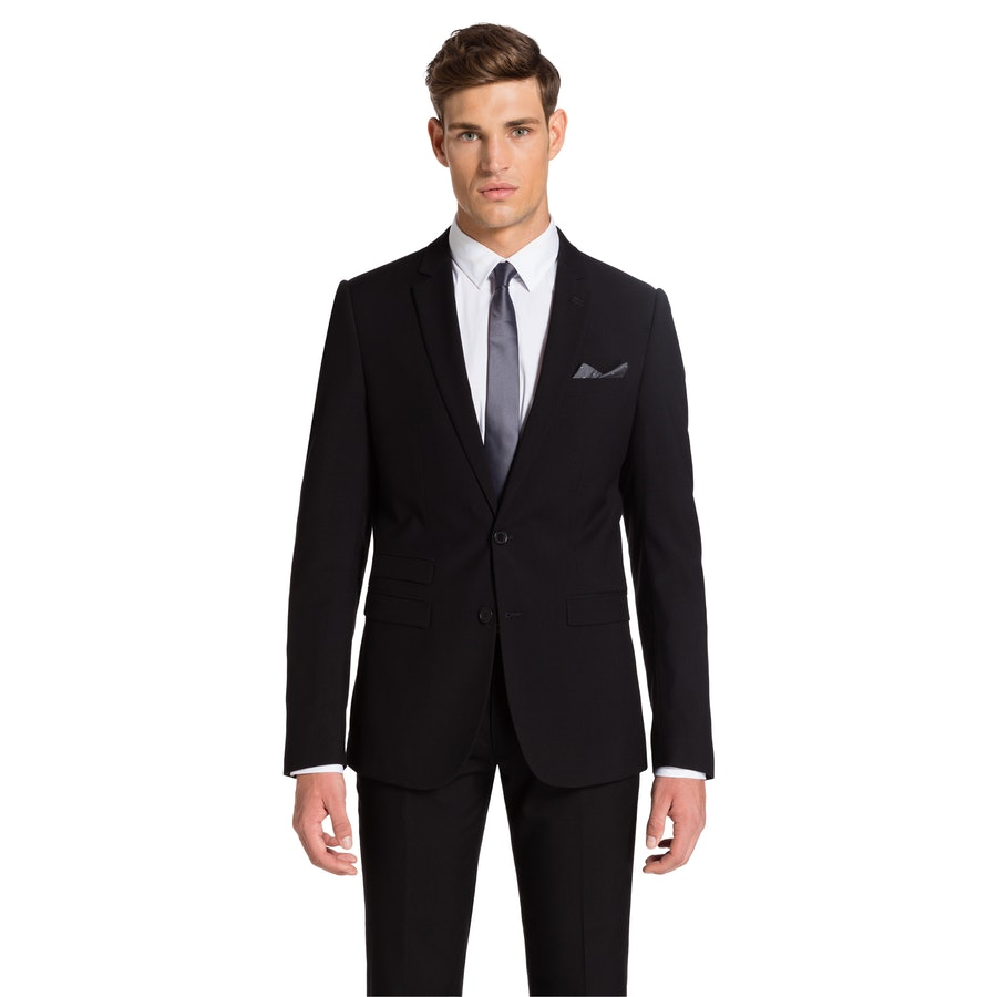 e506422ca781 yd. Cahn Slim Suit Black 38 - Fashion 4 Men