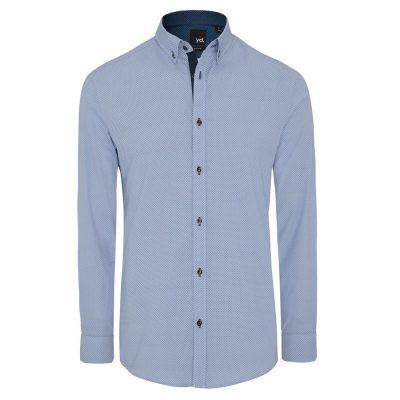 Fashion 4 Men - yd. Cato Slim Fit Shirt Blue Xxl
