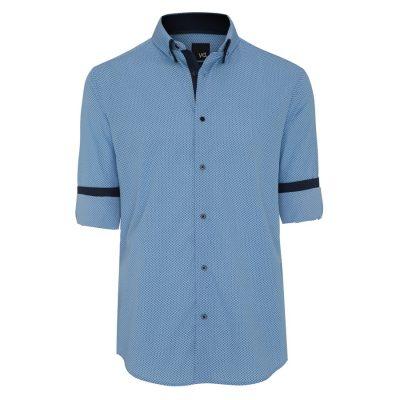 Fashion 4 Men - yd. Finnian Shirt Blue L