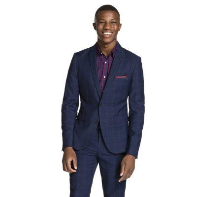 Fashion 4 Men - yd. Marlo Skinny Suit Jacket Navy 2 Xs