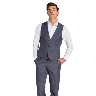 Fashion 4 Men - yd. Myles Waistcoat Blue Xl