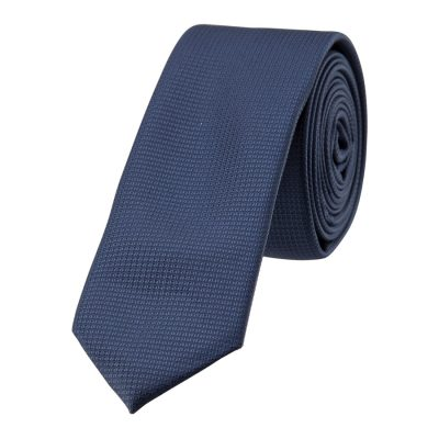 Fashion 4 Men - yd. Neat 5 Cm Tie Dark Blue One