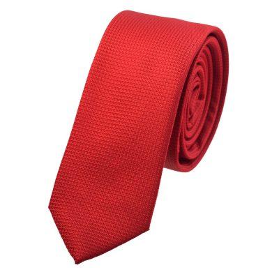 Fashion 4 Men - yd. Neat 5 Cm Tie Red One